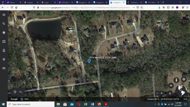 5715 Whistle Stop Lane, Ravenel, SC 29470 (#21003694) :: Realty ONE Group Coastal