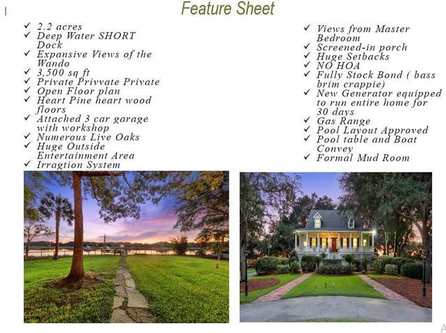 1215 Fifteen Mile Landing Road, Awendaw, SC 29429 (#21024539) :: The Cassina Group