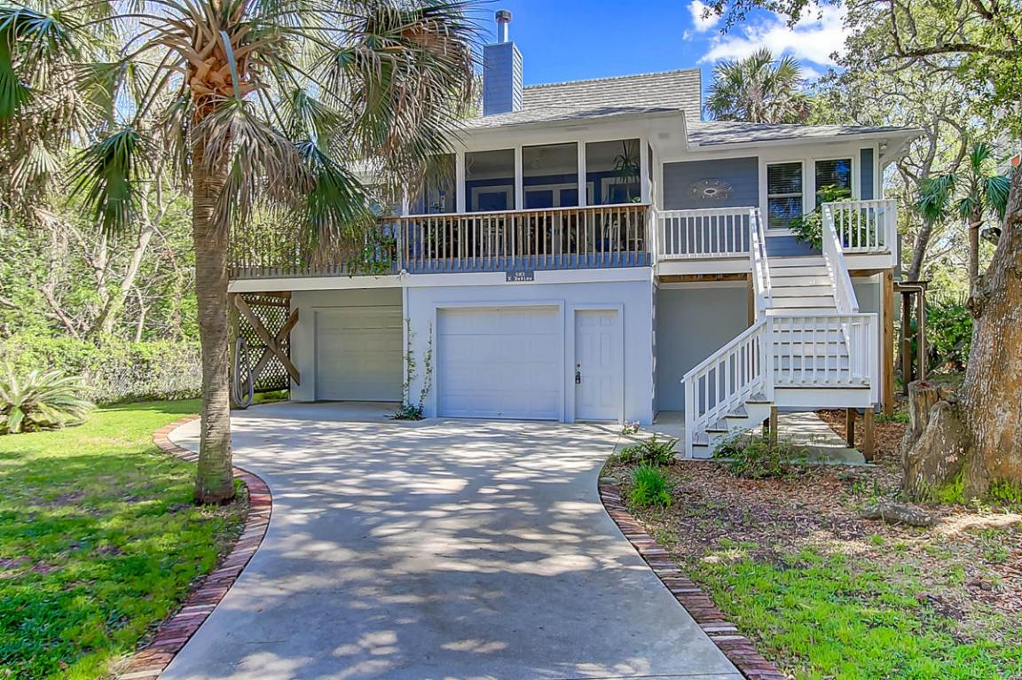 403 E Indian Avenue, Folly Beach, SC 29439 (#17010059) :: The Cassina Group