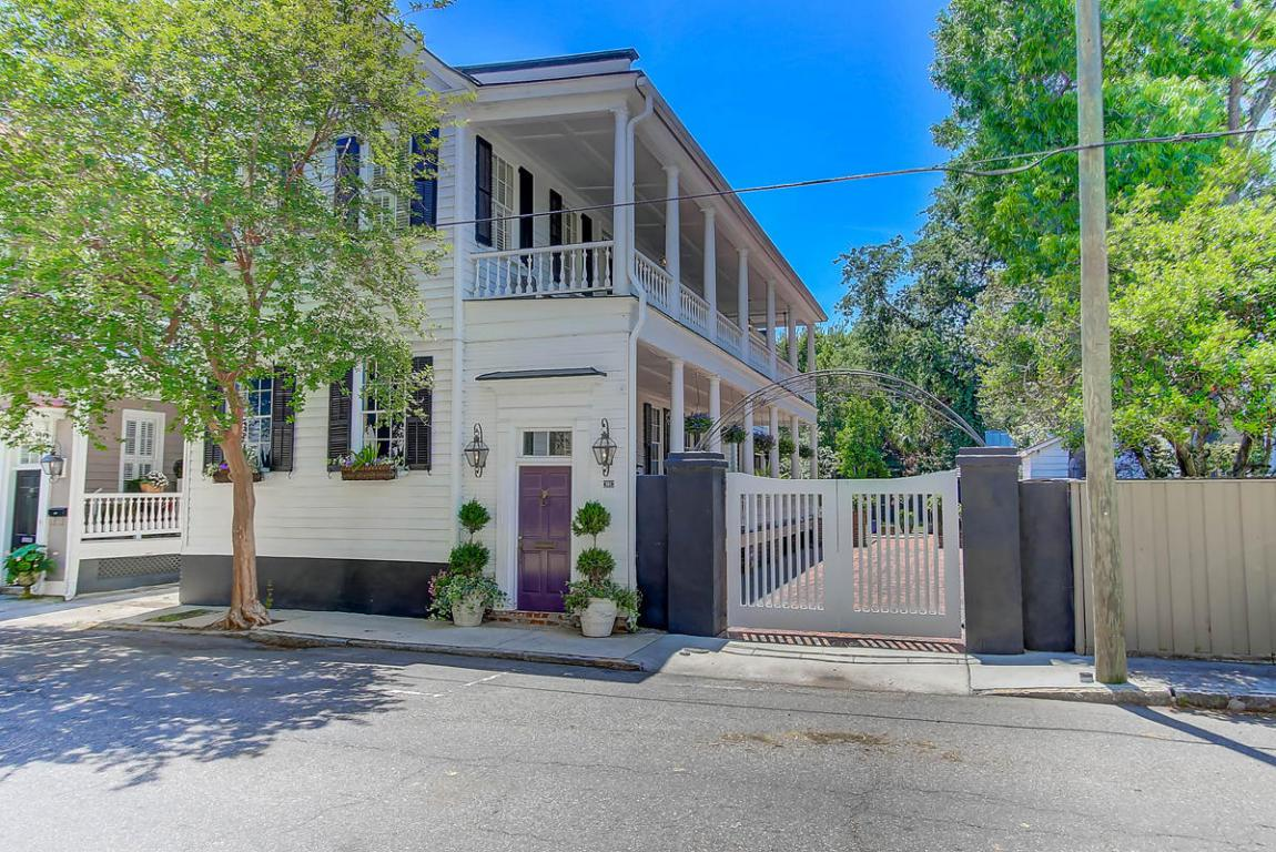 161 Tradd Street, Charleston, SC 29401 (#17013658) :: The Cassina Group
