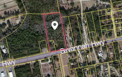 0 Savannah Highway, Ravenel, SC 29470 (#18013550) :: The Cassina Group