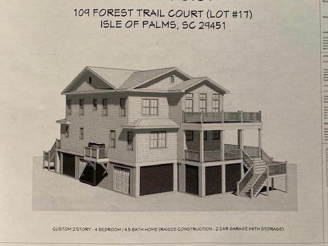 107 Forest Trail Court, Isle Of Palms, SC 29451 (#20020256) :: The Cassina Group