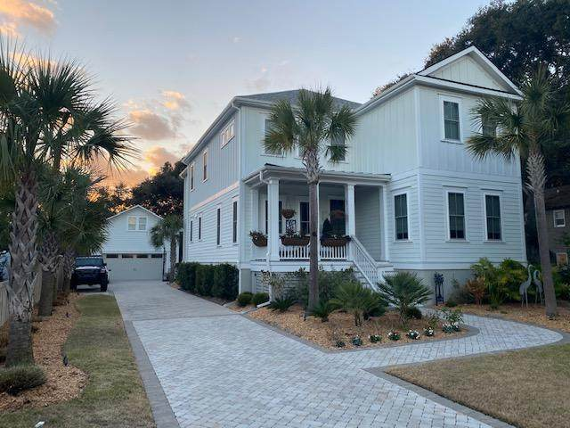 9 22nd Avenue, Isle Of Palms, SC 29451 (#21000623) :: The Cassina Group