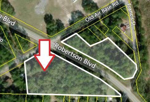0 Robertson Blvd & Old Air Bas Road, Walterboro, SC 29488 (#21004000) :: The Cassina Group