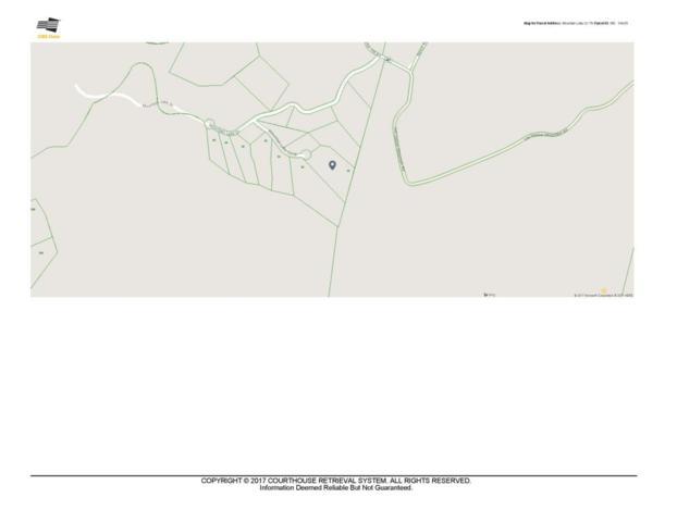 Lot 55 Mountain Lake Circle #55, Pikeville, TN 37367 (MLS #1274186) :: The Edrington Team