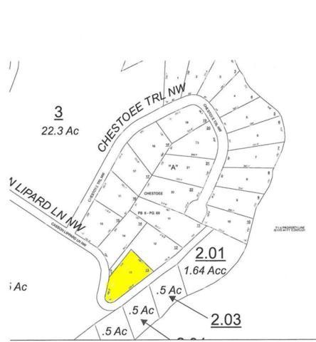 Lot 13 Casson Lippard Ln #13, Georgetown, TN 37336 (MLS #1277342) :: Chattanooga Property Shop
