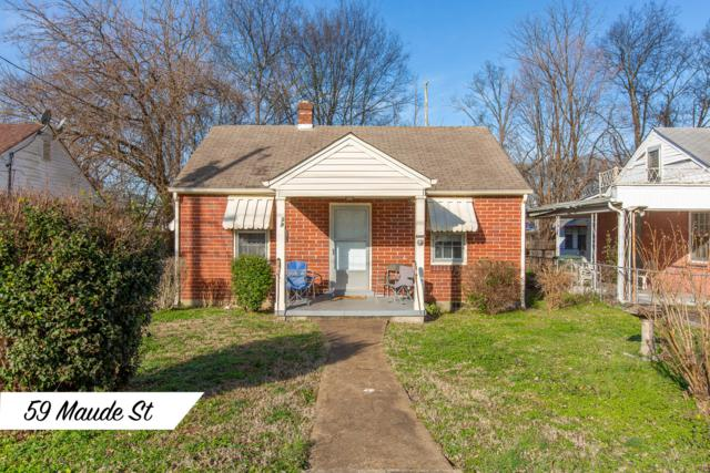 59 Maude St, Chattanooga, TN 37403 (MLS #1299232) :: The Edrington Team