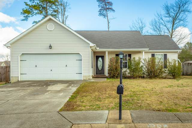 226 Colony Cir, Fort Oglethorpe, GA 30742 (MLS #1311788) :: The Edrington Team