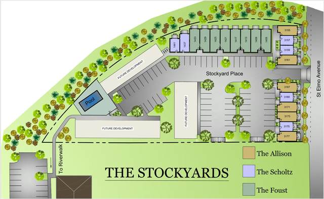 1437 Stockyard Pl #19, Chattanooga, TN 37408 (MLS #1318090) :: The Weathers Team