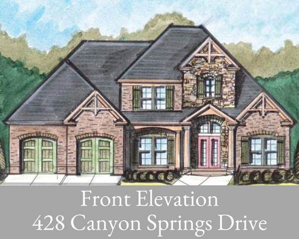 428 Canyon Springs Dr, Hixson, TN 37343 (MLS #1324128) :: The Weathers Team