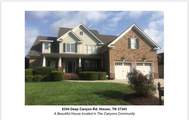 6354 Deep Canyon Rd, Hixson, TN 37343 (MLS #1324437) :: The Weathers Team