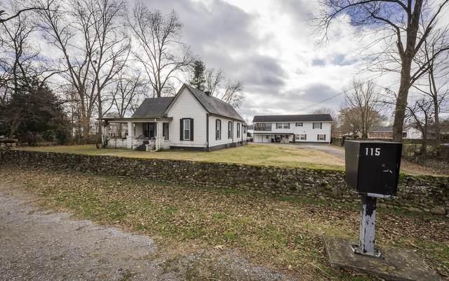 115 College St, Jasper, TN 37347 (MLS #1328834) :: Keller Williams Realty | Barry and Diane Evans - The Evans Group