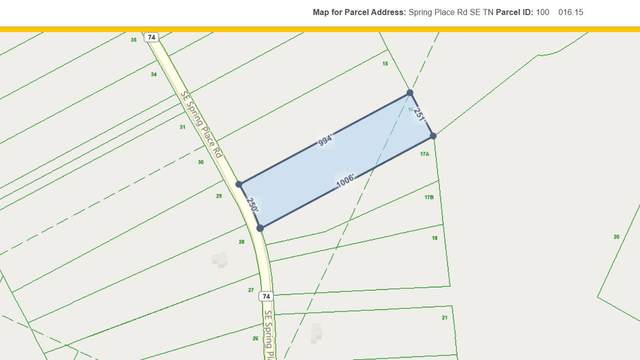 0 SE Spring Place Rd #16, Cleveland, TN 37311 (MLS #1329228) :: Chattanooga Property Shop