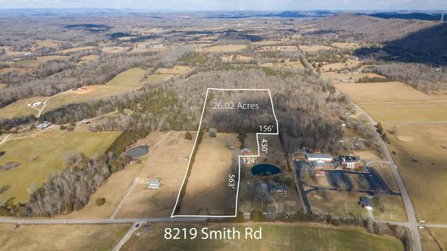 8219 Smith Rd, Georgetown, TN 37336 (MLS #1329912) :: The Hollis Group