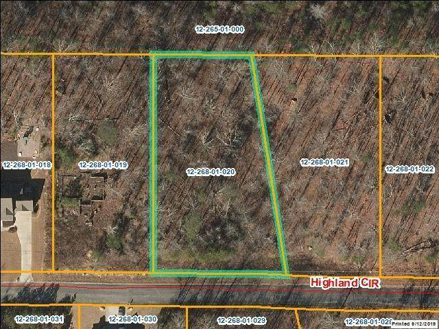 Lot 20 Highland Cir, Rocky Face, GA 30740 (MLS #1318012) :: Keller Williams Realty | Barry and Diane Evans - The Evans Group