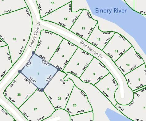 Lot 1 Emory Cove Dr, Harriman, TN 37748 (MLS #1332587) :: Keller Williams Realty