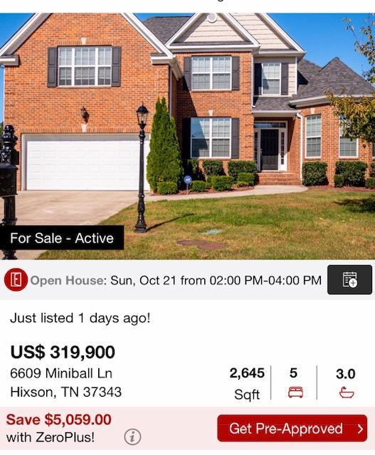 6609 Miniball Ln, Hixson, TN 37343 (MLS #1289579) :: Chattanooga Property Shop
