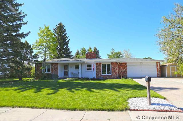 911 Pike St, Cheyenne, WY 82009 (MLS #68079) :: RE/MAX Capitol Properties