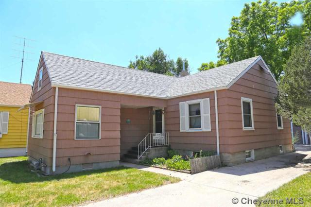 1305 Country Club Av, Cheyenne, WY 82001 (MLS #68705) :: RE/MAX Capitol Properties