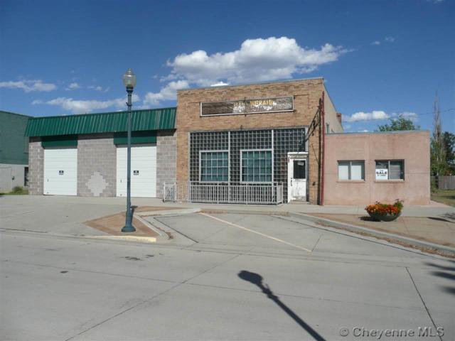 117 & 115 Main St, Burns, WY 82055 (MLS #69359) :: RE/MAX Capitol Properties