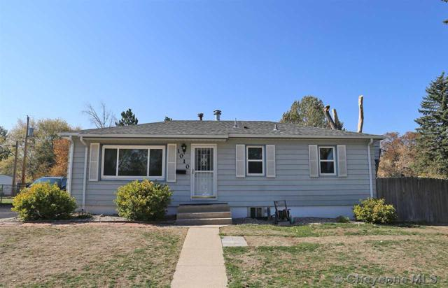 1010 Cahill Dr, Cheyenne, WY 82001 (MLS #69651) :: RE/MAX Capitol Properties
