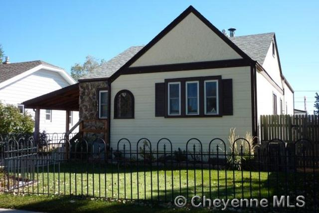 1611 E 15TH ST, Cheyenne, WY 82001 (MLS #69652) :: RE/MAX Capitol Properties