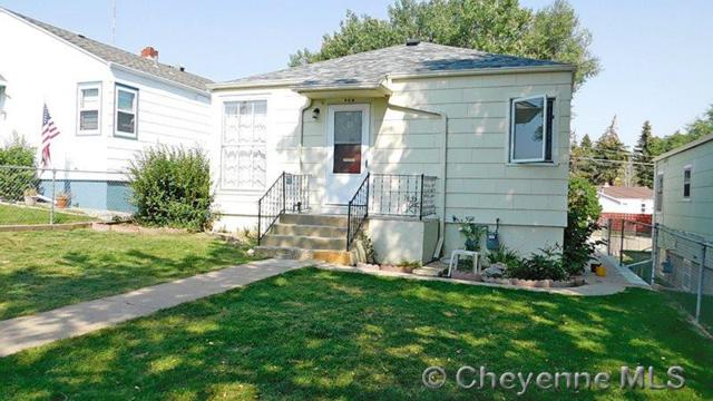 908 E 24TH ST, Cheyenne, WY 82001 (MLS #69656) :: RE/MAX Capitol Properties