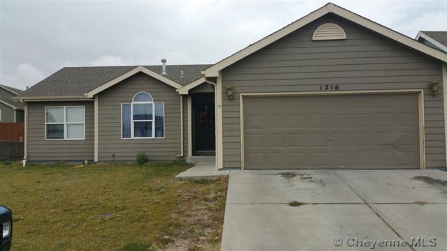1216 Sonata Ln, Cheyenne, WY 82007 (MLS #69733) :: RE/MAX Capitol Properties