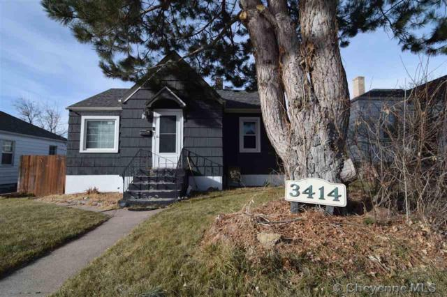3414 Snyder Ave, Cheyenne, WY 82001 (MLS #70041) :: RE/MAX Capitol Properties
