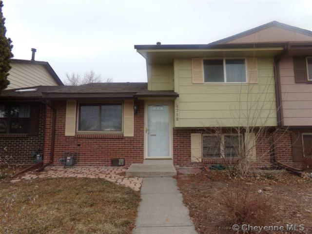 4712 E 13TH ST, Cheyenne, WY 82001 (MLS #70243) :: RE/MAX Capitol Properties