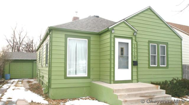 1718 Logan Ave, Cheyenne, WY 82001 (MLS #70464) :: RE/MAX Capitol Properties