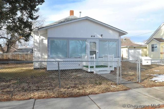 414 E 9TH ST, Cheyenne, WY 82007 (MLS #70500) :: RE/MAX Capitol Properties