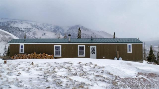 22 Corner Mountain Cir, Centennial, WY 82055 (MLS #70566) :: RE/MAX Capitol Properties