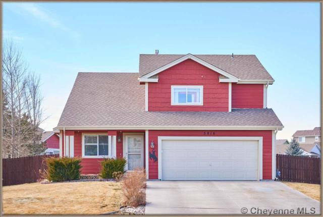 5816 Parkside Dr, Cheyenne, WY 82001 (MLS #70615) :: RE/MAX Capitol Properties