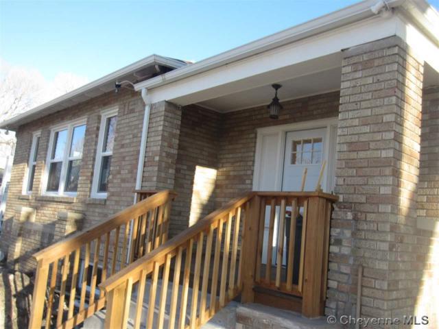 415 W 27TH ST, Cheyenne, WY 82001 (MLS #70760) :: RE/MAX Capitol Properties