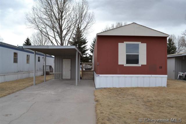 1314 W 18TH ST #22, Cheyenne, WY 82001 (MLS #70853) :: RE/MAX Capitol Properties