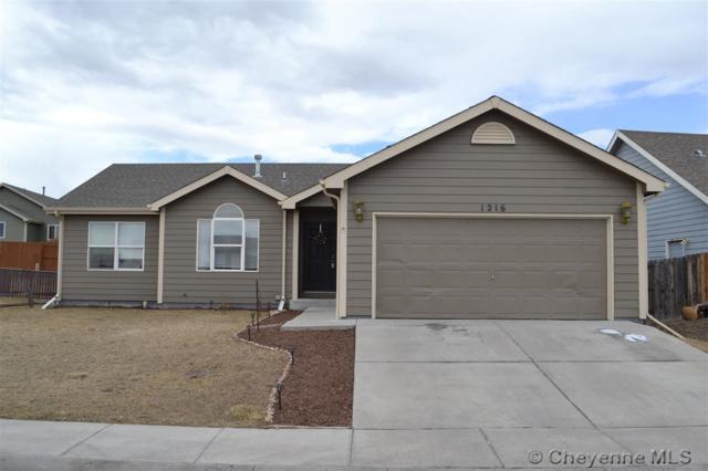1216 Sonata Ln, Cheyenne, WY 82007 (MLS #70856) :: RE/MAX Capitol Properties