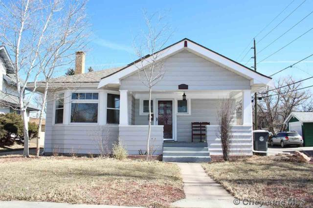 2615 Warren Ave, Cheyenne, WY 82001 (MLS #70888) :: RE/MAX Capitol Properties