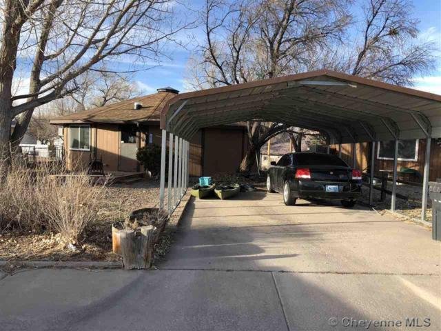 614 W 6TH ST, Cheyenne, WY 82007 (MLS #70892) :: RE/MAX Capitol Properties