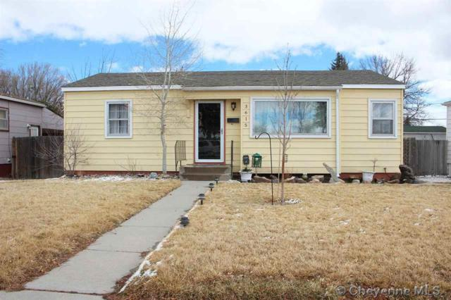 3615 Bradley Ave, Cheyenne, WY 82001 (MLS #70952) :: RE/MAX Capitol Properties