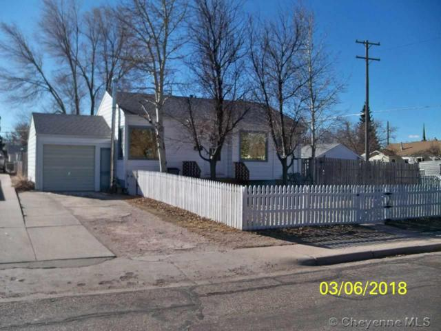 1301 E 23RD ST, Cheyenne, WY 82001 (MLS #70980) :: RE/MAX Capitol Properties