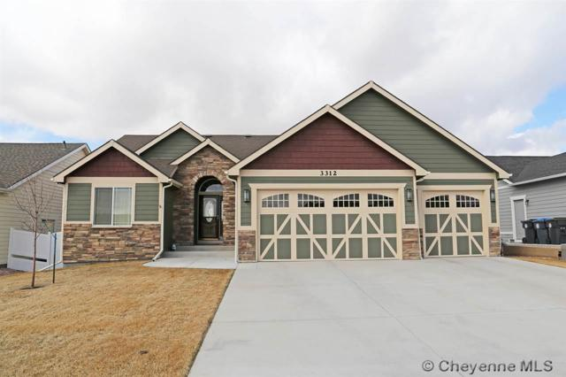 3312 Campfire Trail, Cheyenne, WY 82001 (MLS #71086) :: RE/MAX Capitol Properties