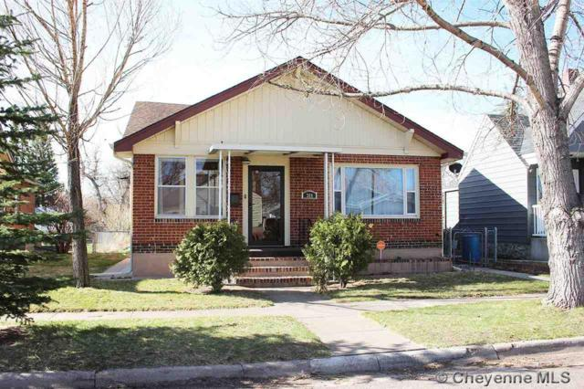 309 E 2ND AVE, Cheyenne, WY 82001 (MLS #71256) :: RE/MAX Capitol Properties
