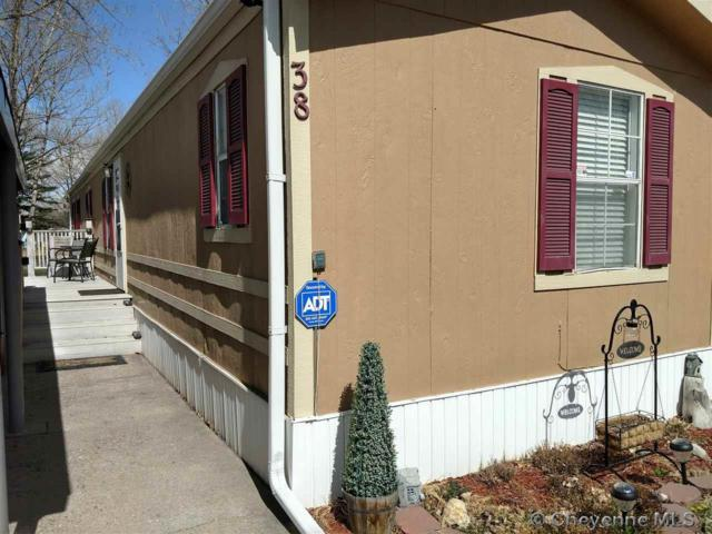 609 E Prosser Rd #38, Cheyenne, WY 82001 (MLS #71278) :: RE/MAX Capitol Properties