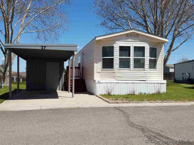 609 E Prosser Rd #27, Cheyenne, WY 82001 (MLS #71508) :: RE/MAX Capitol Properties