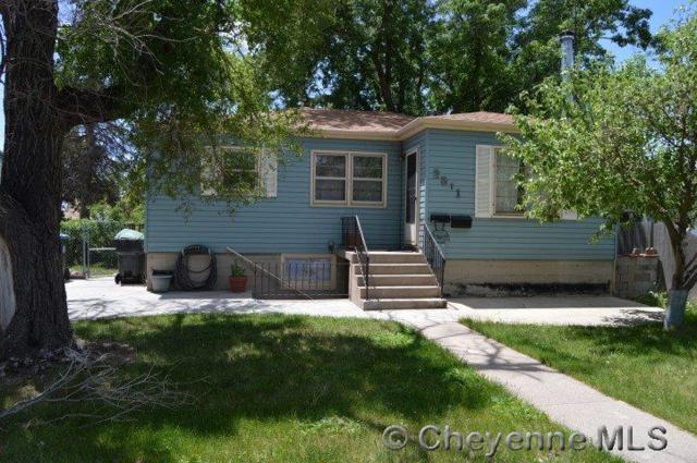 2311 E 13TH ST, Cheyenne, WY 82001 (MLS #71863) :: RE/MAX Capitol Properties