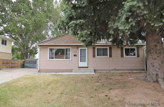 4029 E 7TH ST, Cheyenne, WY 82001 (MLS #71960) :: RE/MAX Capitol Properties