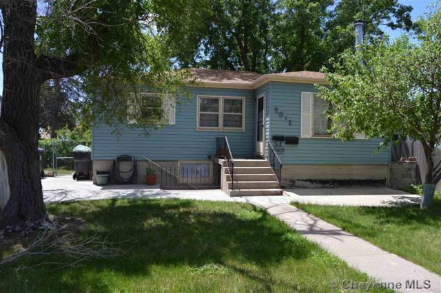 2311 E 13TH ST, Cheyenne, WY 82001 (MLS #71992) :: RE/MAX Capitol Properties