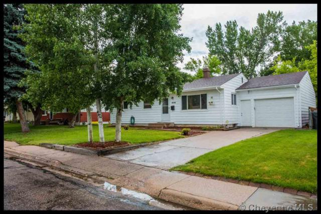 4016 E 9TH ST, Cheyenne, WY 82001 (MLS #72014) :: RE/MAX Capitol Properties