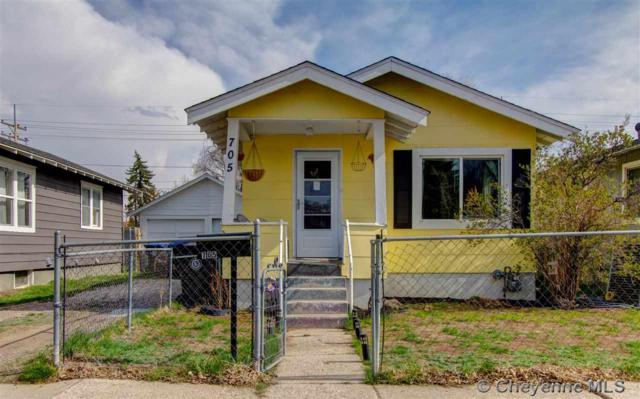 705 E 6TH ST, Cheyenne, WY 82007 (MLS #72040) :: RE/MAX Capitol Properties